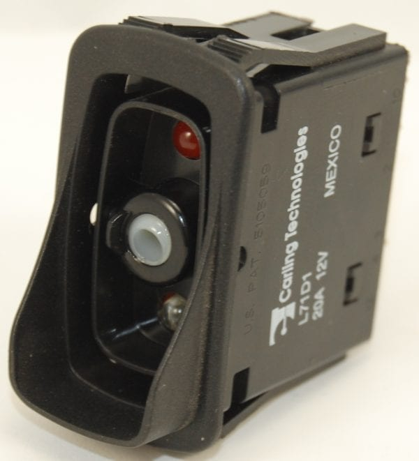 Rocker Switch: Carling Technologies L71D1GNHE Double Pole Progressive  Circuit On - On - Momentary On with Rocker Guard on Bottom